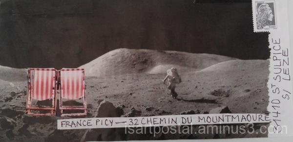 Farniente sur la lune