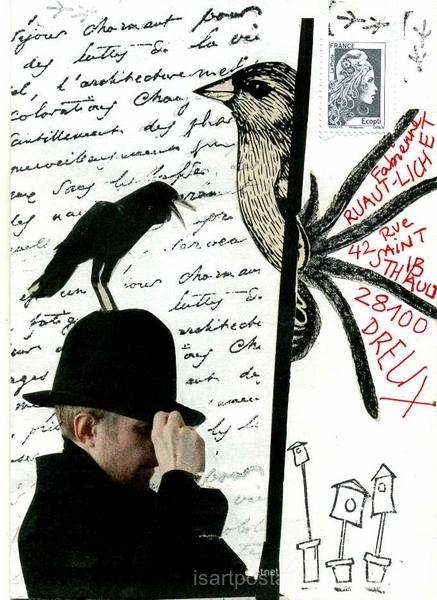 Oiseau chapeau...
