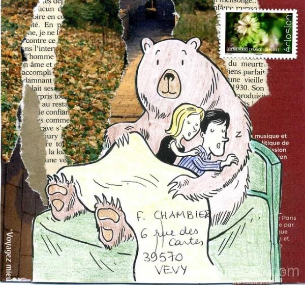Sous la couette de l'ours