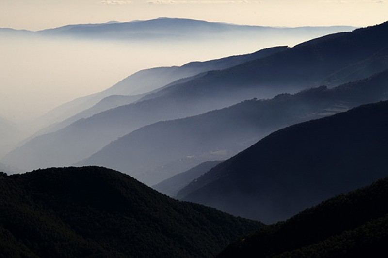 VIEW FROM MONTSENY CATALONIA