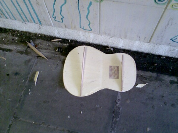 REMAINS OF A BUSKER