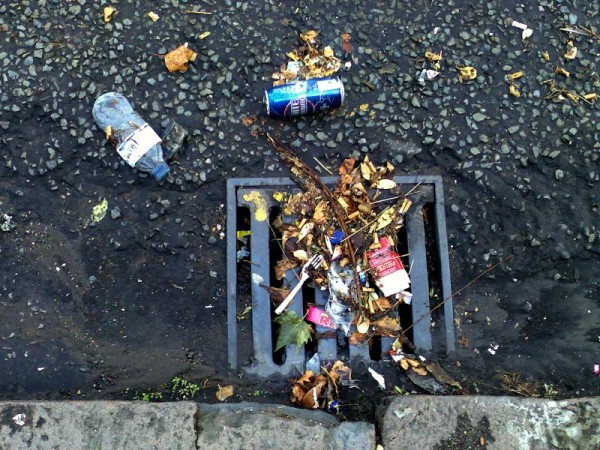 DRAIN AFTER THE STORM IN ELGAR RD