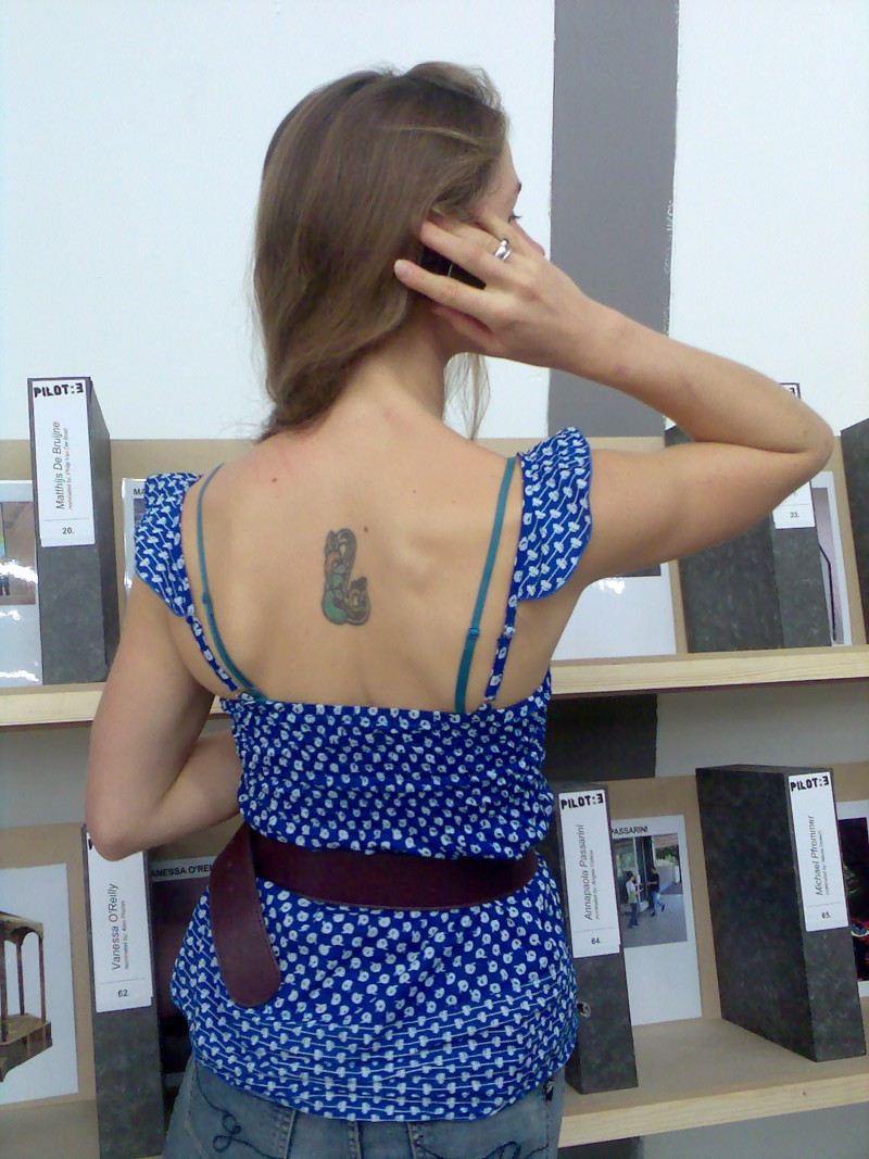 THAT GIRL WITH THE TATTOO