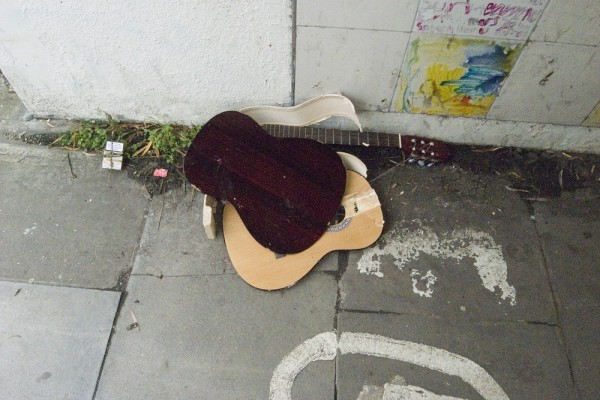 REMAINS OF A BUSKER 2