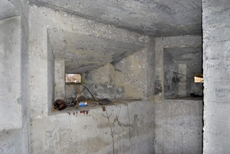 INSIDE THAT PILLBOX NEAR BRIDGE 15