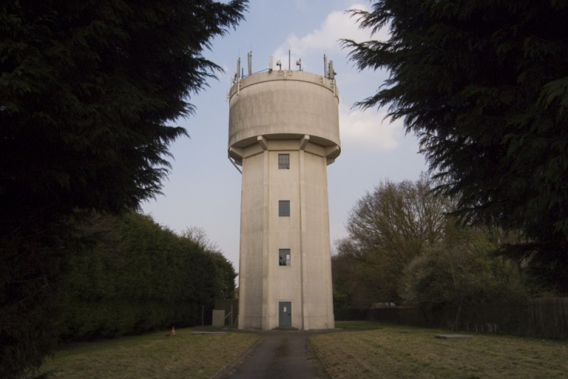 THE WATER TOWER I USED TO LIVE NEXT TO