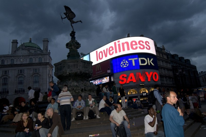 LOVELINESS, PICCADILLY CIRCUS, LONDON