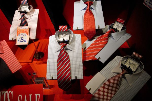 SHIRTS AND TIES, AND CUFFLINKS.