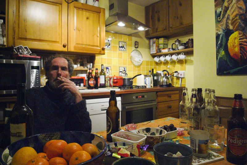 LINDA'S LOVELY SHOT OF ME IN MY KITCHEN