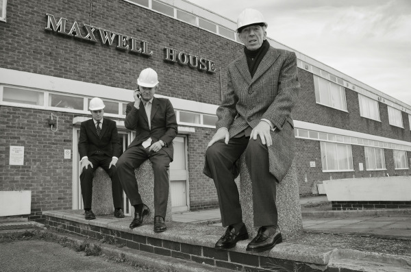 THE PROPERTY DEVELOPERS, OUTSIDE ROBERT MAXWELL'S