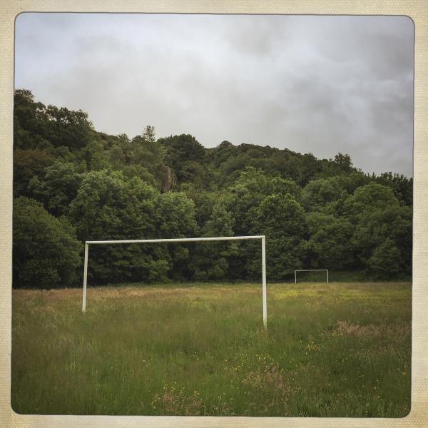 FOOTBALL PITCH,  CYM-Y-GLO, NORTH WALES