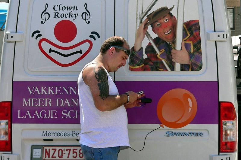 Clown Rocky