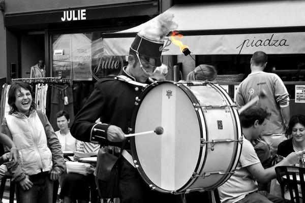 Drummer, July 2005
