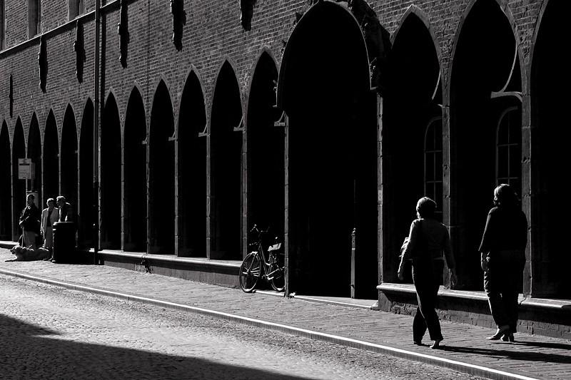 Sunlit Street