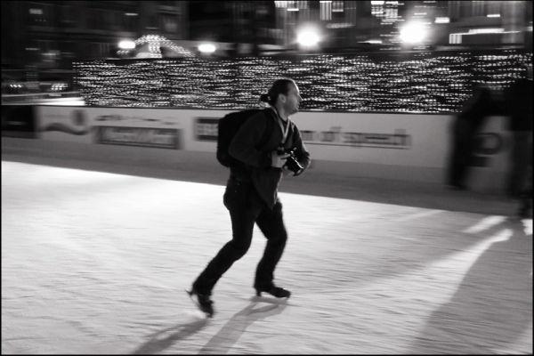 photographer on ice