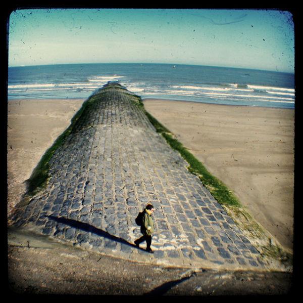 Breakwater in Ostend