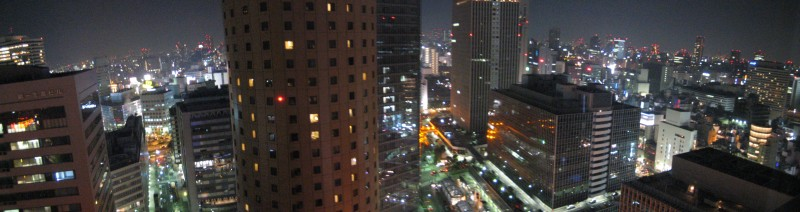 View from the Hilton