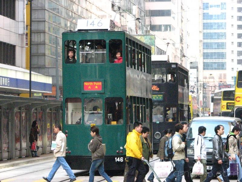 Bus in HK