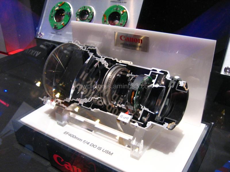 Inside a Canon Lens