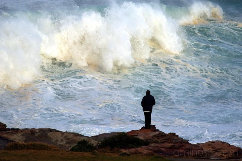 Winter storm, Mahons Point - Maroubra
