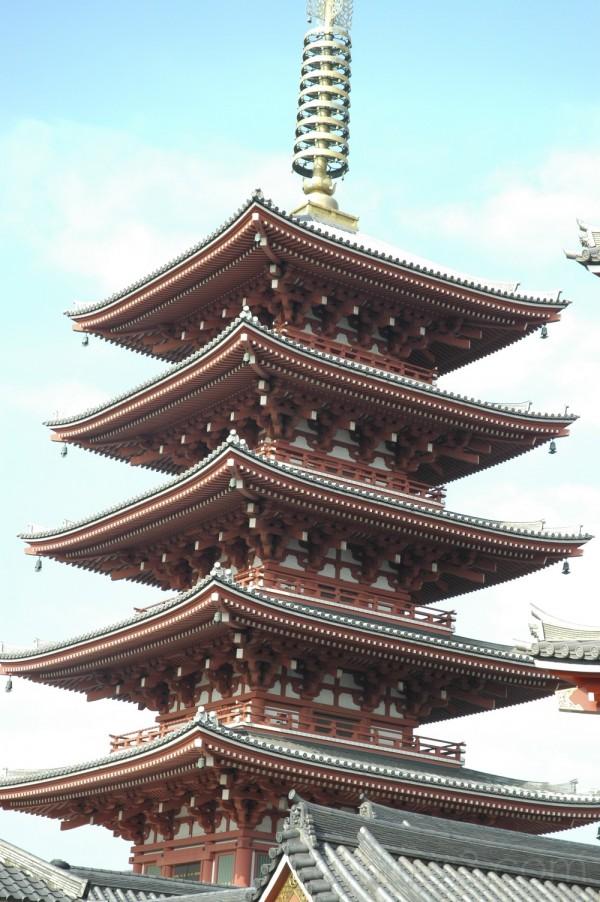 Pagoda in Asakusa (浅草)