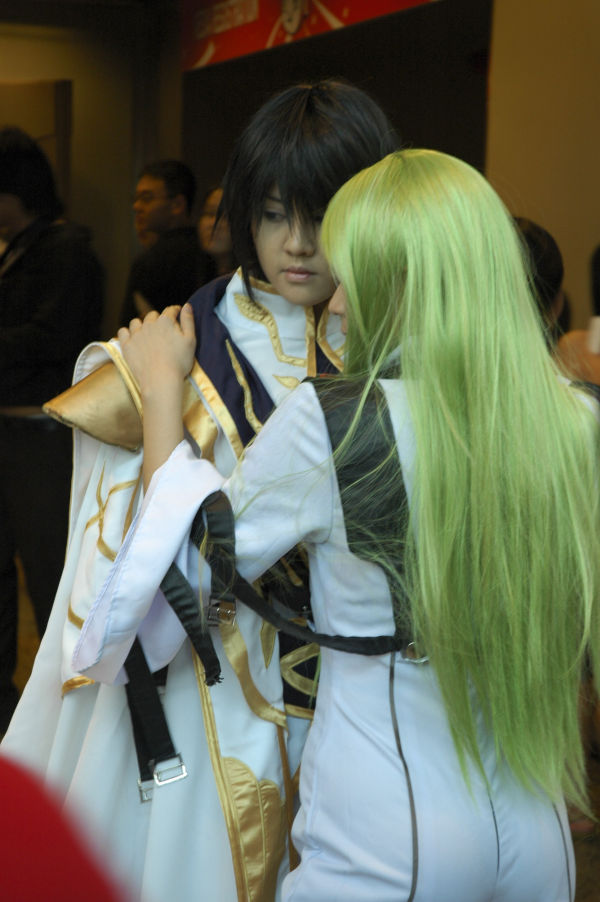 Cosplay: Lelouch and CC