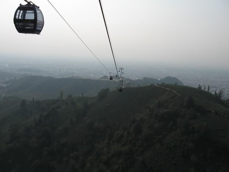 View منظره تله کابین لاهیجان