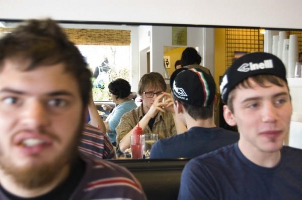 My Friends in Cricket Cafe