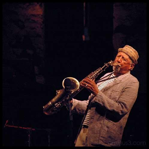 jazz musician portrait