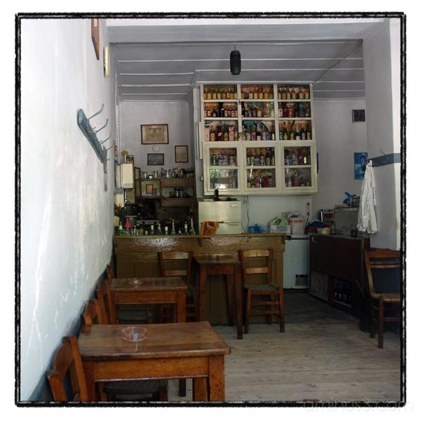 cofee shop interior voulgareli epirus greece kriki