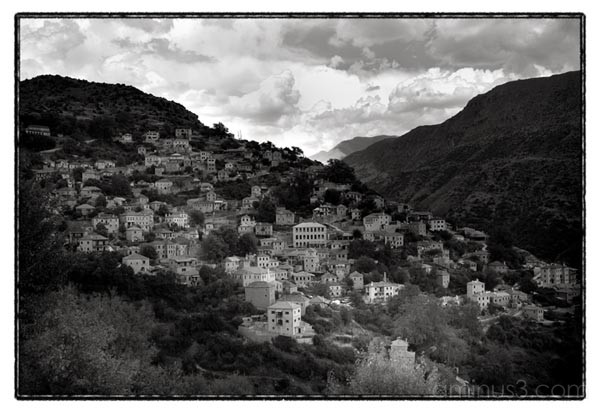 sirrako greece mountain village