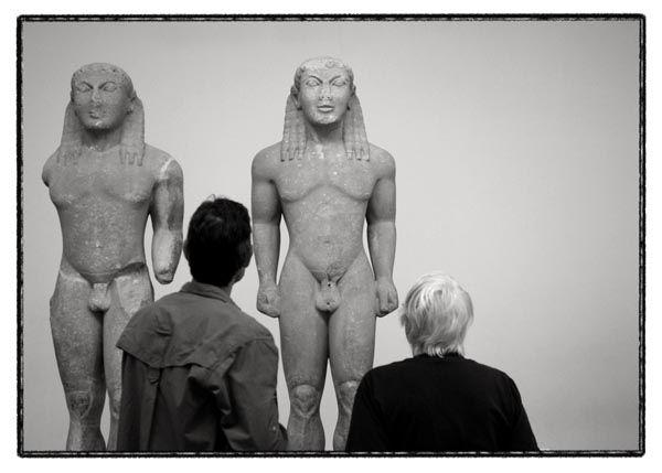 acient sculpture museum people delfi greece