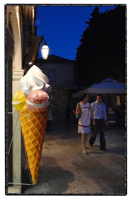 dubrovnik series / ice cream walk