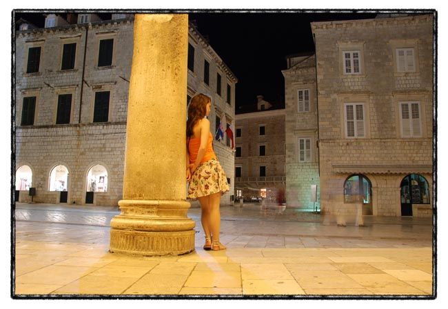 dubrovnik series / waiting for photo