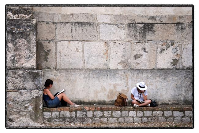 dubrovnik series / resting place