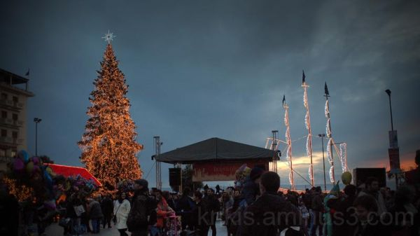 christmas in town/ merry christmas to all