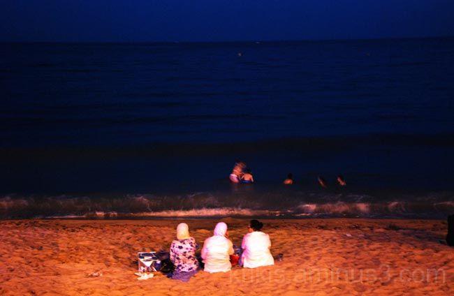 nightfall at the beach  IV