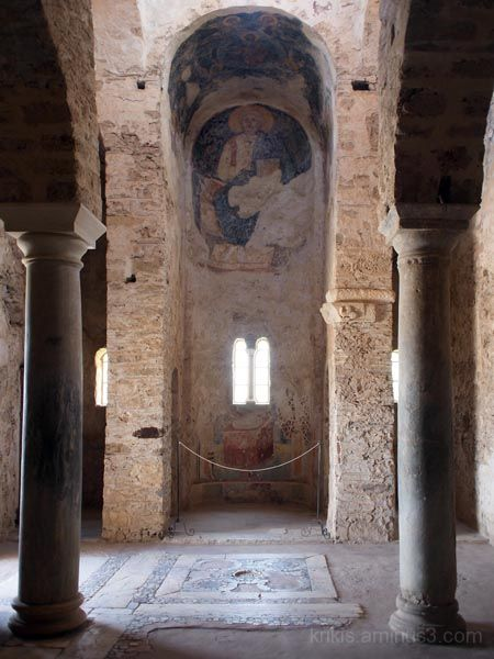 byzantine church interior 2