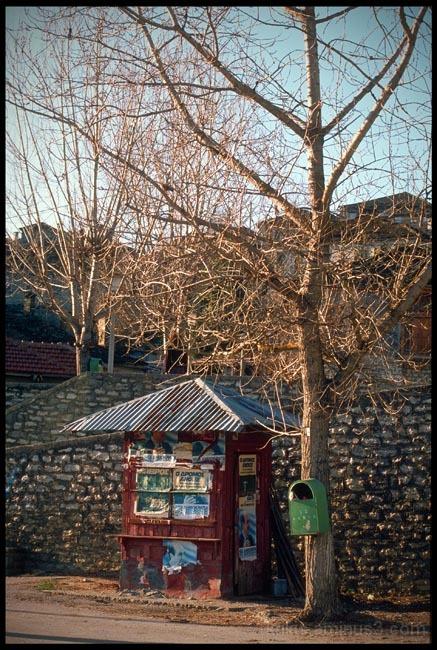red kiosk