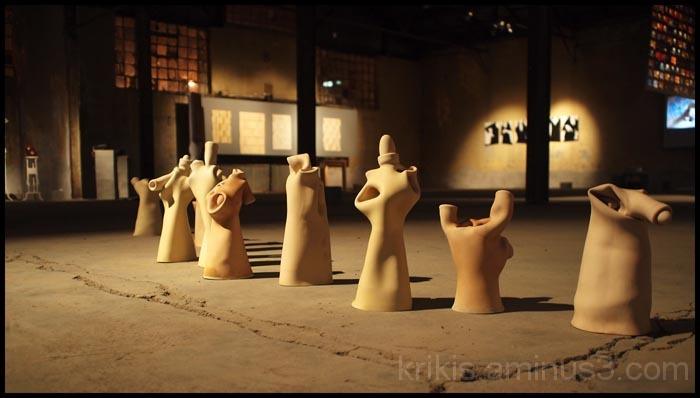glove sculpture