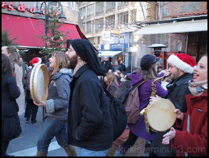 thessaloniki 31 dec street party I