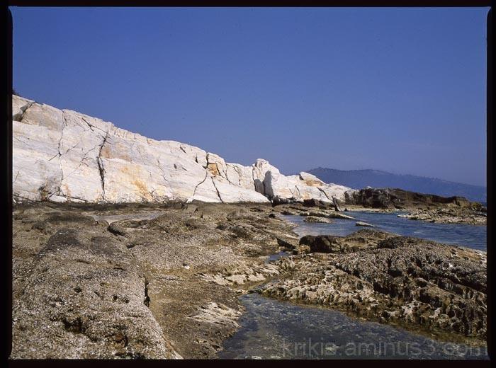 ancient marble quarry