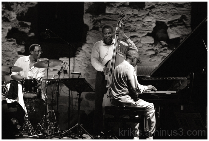 helin riley - reginald veal - ahmad jamal