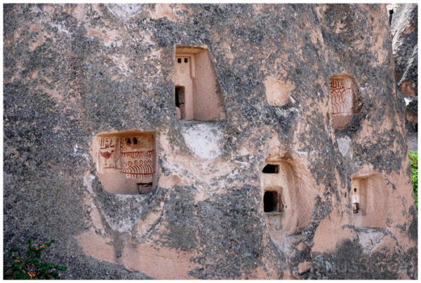 cave houses & churches