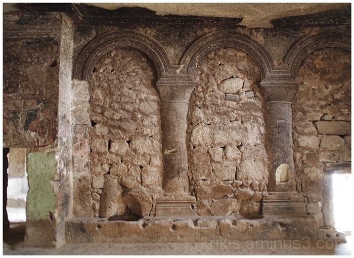 sculptured arches