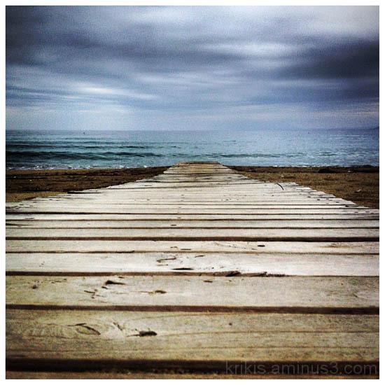 path to the sea I
