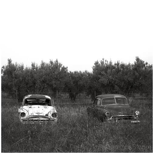 abandoned cars I