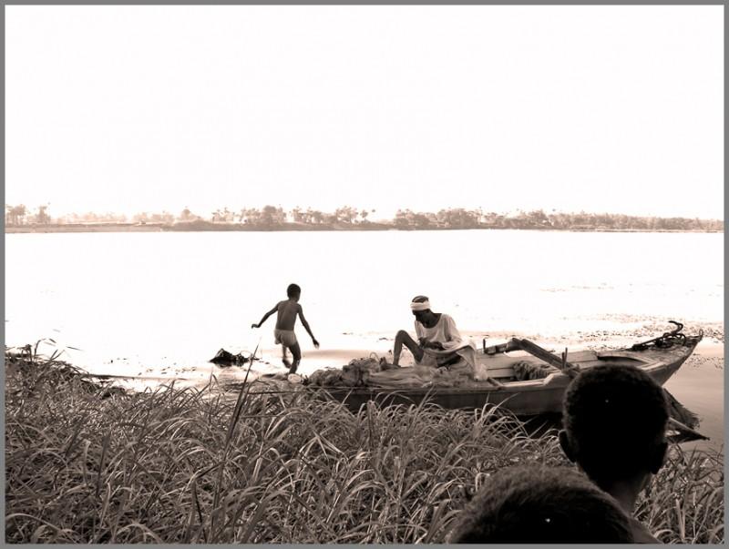 Sunlight on the Nile