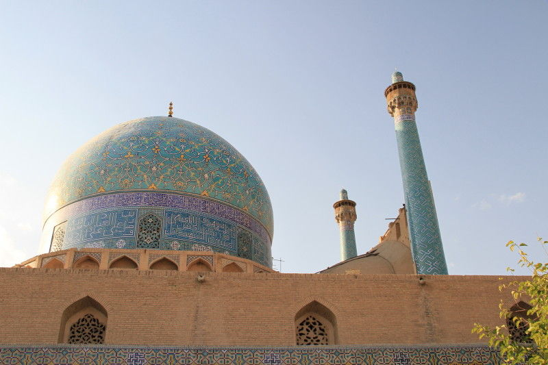 masjid imam(shah)-view from vally
