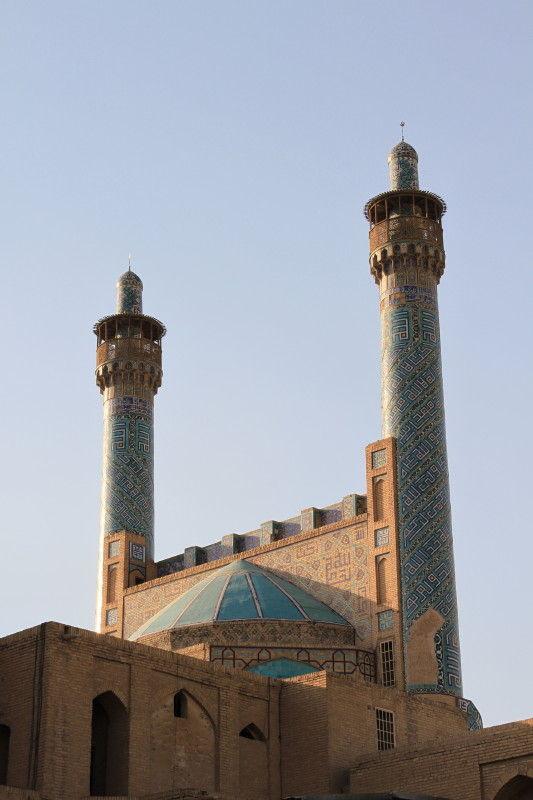 masjid shah-back view